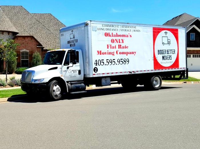 Moving company Truck